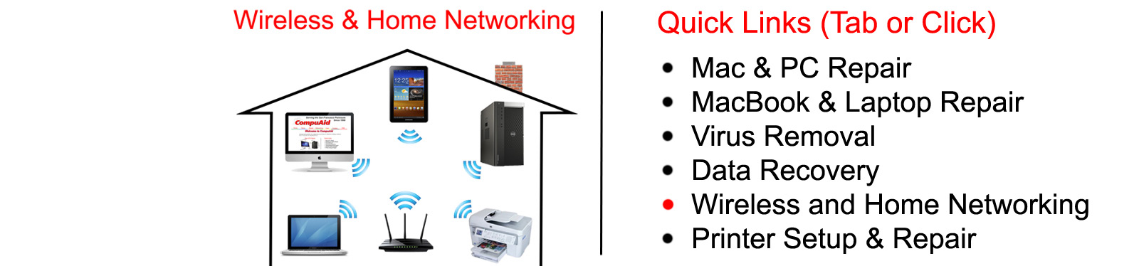 Wireless Networking, Home Networking in San Carlos, CA